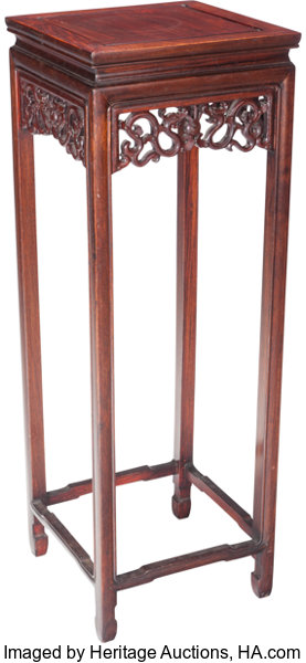 Sidetable 20 Cm.A Chinese Rosewood Side Table 20th Century 36 Inches High