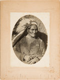 "Photography:Cabinet Photos, Geronimo: A Fine Original Photograph on Oversized 6"" x 8"" Mount...."