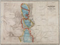 Miscellaneous:Maps, Large Color-tinted 1865 Map of Colorado Territory....