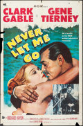 "Movie Posters:Adventure, Never Let Me Go (MGM, 1953). One Sheet (27"" X 41""). Adventure.. ..."