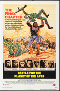 """Movie Posters:Science Fiction, Battle for the Planet of the Apes (20th Century Fox, 1973). One Sheet (27"""" X 41""""). Science Fiction.. ..."""