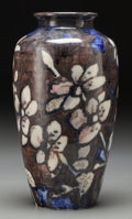 Ceramics & Porcelain, American:Modern  (1900 1949)  , A Rookwood Anniversary Glaze Ceramic Floral Vase by Jens Jensen,Cincinnati, Ohio, circa 1931. Marks: (RP addorsed with 14 f...