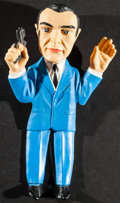 "Movie Posters:James Bond, James Bond in Goldfinger Action Puppet (Gilbert, 1965). Novelty Hand Puppet (8"" X 14""). James Bond.. ..."