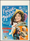"Movie Posters:Musical, Naughty Marietta (MGM, 1935). Pre-War Belgian (24.25"" X 33""). Musical.. ..."
