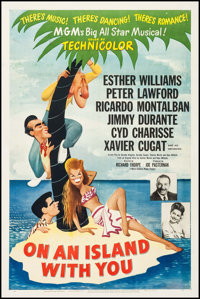 """On an Island with You (MGM, 1948). One Sheet (27"""" X 41""""). Musical"""