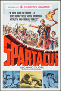 """Movie Posters:Action, Spartacus (Universal International, 1961). One Sheet (27"""" X 41"""")Academy Award Style. Action.. ..."""