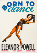 """Movie Posters:Musical, Born to Dance (MGM, 1936). Leader Press One Sheet (28.5"""" X 41""""). Musical.. ..."""
