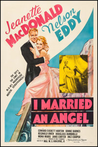 "I Married an Angel (MGM, 1942). One Sheet (27"" X 41"") Style D. Musical"