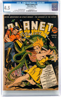 Golden Age (1938-1955):Science Fiction, Planet Comics #22 (Fiction House, 1943) CGC VG+ 4.5 Cream to off-white pages....