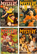 Pulps:Detective, Thrilling Mystery Group of 4 (Standard, 1941-44) Condition:Apparent VG+.... (Total: 4 Items)