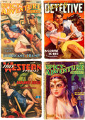 Pulps:Adventure, Assorted Adventure and Detective Pulps Group of 10 (Various, 1930s-40s) Condition: Average GD/VG.... (Total: 10 Items)