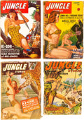 Pulps:Adventure, Jungle Stories Group (Fiction House, 1945-51) Condition: Average FR/GD.... (Total: 15 Items)