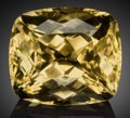 Gems:Faceted, Rare Gemstone: Yellow Sanidine - 164.0 Ct.. Itrongay, MahasoaEast Commune. Betroka District, Anosy Region.Tuléar...