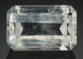 Gems:Faceted, Very Rare Gemstone: Thaumasite - 5.86 Ct.. N'Chwaning IIMine. Kuruman, Kalahari Manganese Field. NorthernCape Pr...