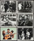 """Movie Posters:Elvis Presley, Double Trouble (MGM, 1967). Photos (14) & Color Photo (8"""" X10""""). Elvis Presley.. ... (Total: 15 Items)"""