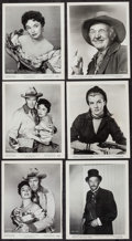 """Movie Posters:Western, The Far Country (Universal International, 1955). Photos (95) & Reissue Photos (R-1962) (13) (8"""" X 10""""). Western.. ... (Total: 108 Items)"""
