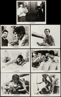 "Movie Posters:Foreign, Purple Noon (Times, 1961). Photos (7) (8"" X 10""). Foreign.. ... (Total: 7 Items)"