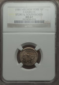 Civil War Merchants, 1863 New York, NY Fuld 630BV-9j, Story & Southworth, R.8, MS67NGC....