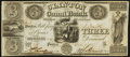 Obsoletes By State:Michigan, Pontiac, MI- Clinton Canal Bank $3 Dec. 9, 1837. ...