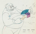 Animation Art:Color Model, Pinocchio Stromboli Color Model Illustration (Walt Disney,1940)....