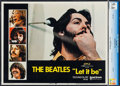"Movie Posters:Rock and Roll, Let It Be (United Artists, 1970). CGC Graded Lobby Card (11"" X14""). Rock and Roll.. ..."