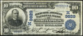 Indianapolis, IN - $10 1902 Date Back Fr. 619 The Fletcher American NB Ch. # (M)9829