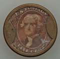 Tremont House, 5 Cents, Hodder-Bowers 122