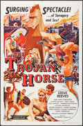 "Movie Posters:Action, The Trojan Horse & Others Lot (Colorama, 1961). One Sheets (3)(27"" X 41""). Action.. ... (Total: 3 Items)"