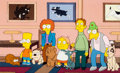 """Animation Art:Production Cel, The Simpsons """"Bart's Dog Gets an F"""" Bart, Martin, and OthersProduction Cel (Fox, 1991)...."""