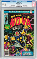 Bronze Age (1970-1979):Superhero, Nova #1 (Marvel, 1976) CGC NM+ 9.6 White pages....
