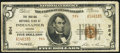 National Bank Notes:Indiana, Indianapolis, IN - $5 1929 Ty. 2 The Indiana NB Ch. # 984. ...