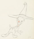 Animation Art:Production Drawing, An Itch In Time Anthony Flea Animation Drawing (WarnerBrothers, 1943)....