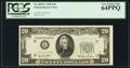 Fr. 2059-L $20 1950 Federal Reserve Note. PCGS Very Choice New 64PPQ