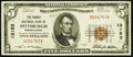 National Bank Notes:Pennsylvania, Pittsburgh, PA - $5 1929 Ty. 1 The Forbes NB Ch. # 13153. ...