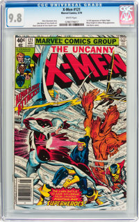 X-Men #121 (Marvel, 1979) CGC NM/MT 9.8 White pages