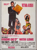 """Movie Posters:James Bond, Viva James Bond (United Artists, R-1980s). Indian Poster (28"""" X38"""") From Russia with Love. James Bond.. ..."""