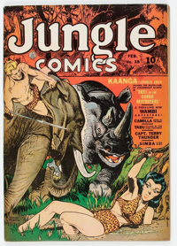 Jungle Comics #38 (Fiction House, 1943) Condition: FN+