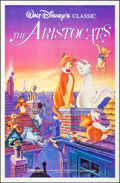 """Movie Posters:Animation, The Aristocats & Others Lot (Buena Vista, R-1987). One Sheets(3) (27"""" X 41"""") & German A1 (23.5"""" X 33""""). Animation.. ...(Total: 4 Items)"""