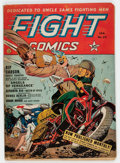 Golden Age (1938-1955):War, Fight Comics #23 (Fiction House, 1943) Condition: GD/VG....