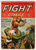 Golden Age (1938-1955):War, Fight Comics #26 (Fiction House, 1943) Condition: VG....
