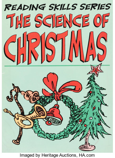 How The Grinch Stole Christmas Book Cover.Doctor Seuss How The Grinch Stole Christmas Prop Whoville