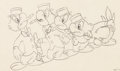 animation art:Model Sheet, The Three Caballeros Jose Carioca Color Model Drawings Groupof 2 (Walt Disney, 1945).... (Total: 2 Items)
