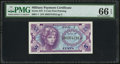 Military Payment Certificates:Series 641, Series 641 5¢ PMG Gem Uncirculated 66 EPQ.. ...