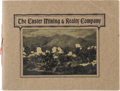 "Miscellaneous:Booklets, ""The Custer Mining & Realty Company"" Promotional Booklet.Pueblo, CO.: The Company, 1902...."