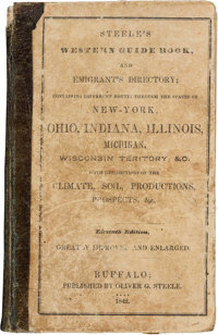 Steele's Western Guide Book, and Emigrant's Directory with Folding Map. Buffalo: Oliver G. Stee