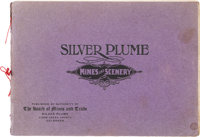 """""""Silver Plume Mines and Scenery"""" Photo Book. Denver: United States Colortype Co., 1903"""
