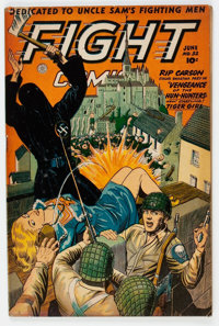 Fight Comics #32 (Fiction House, 1944) Condition: VG-