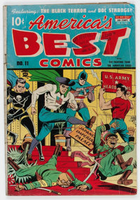 America's Best Comics #11 (Nedor Publications, 1944) Condition: GD-