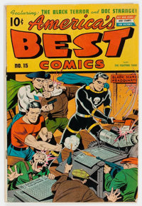 America's Best Comics #15 (Nedor Publications, 1945) Condition: VG