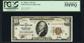 Small Size:Federal Reserve Bank Notes, Fr. 1860-C $10 1929 Federal Reserve Bank Note. PCGS Choice About New 55PPQ.. ...